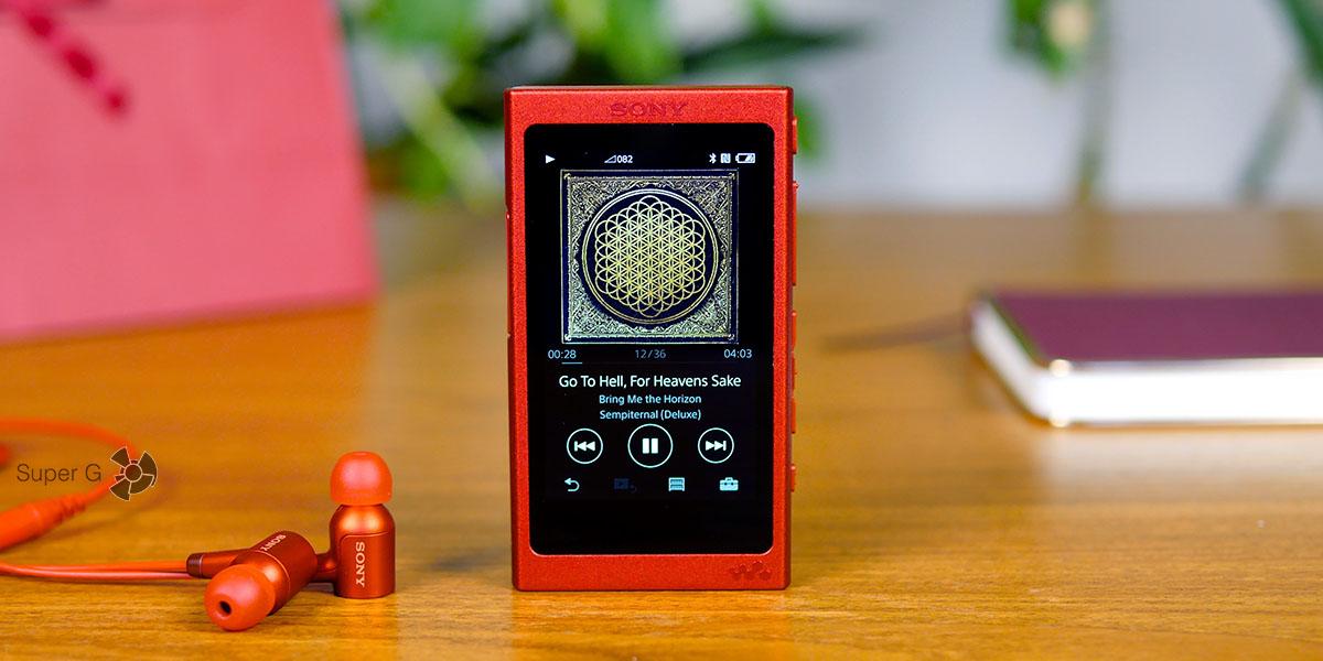 Сравнение плеера Sony Walkman NW-A35 со смартфонами