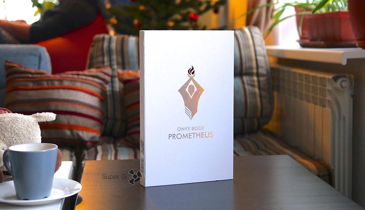 Распаковка ONYX BOOX Prometheus