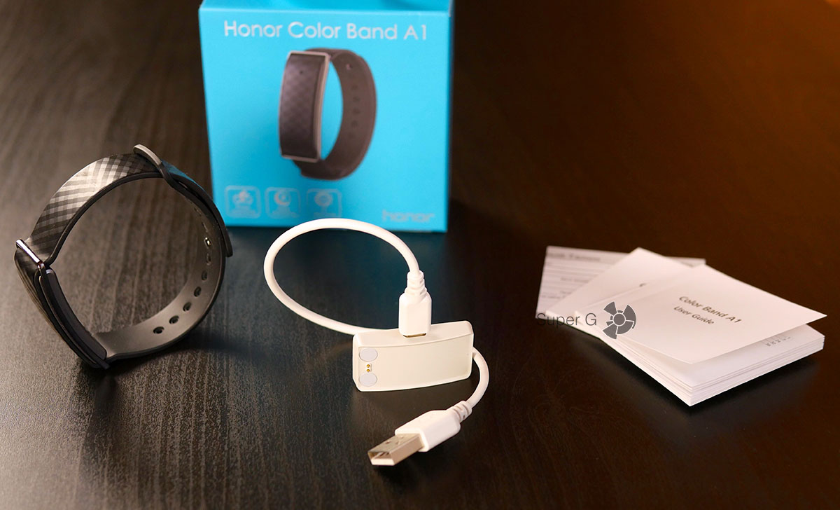 Комплектация Honor Band A1