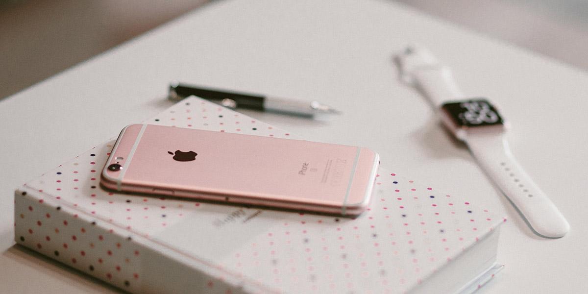 Розовый iPhone 6Ы