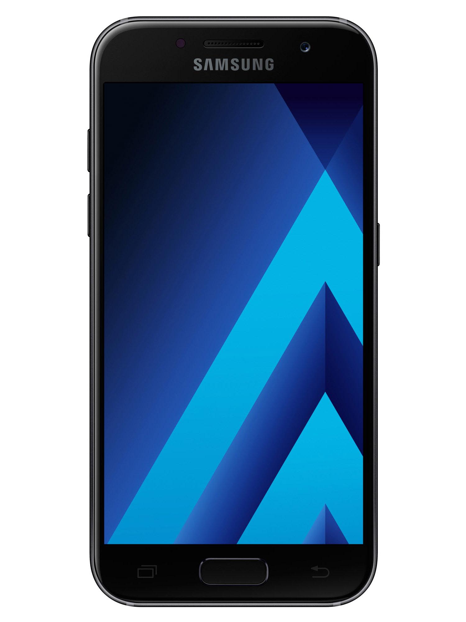 Samsung Galaxy A 2017 черный