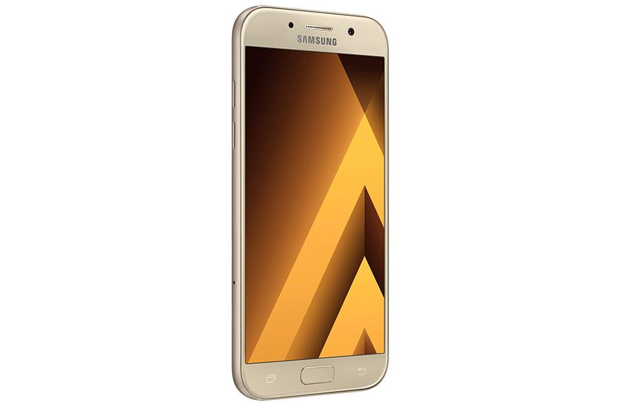 Samsung Galaxy A 2017 золотой