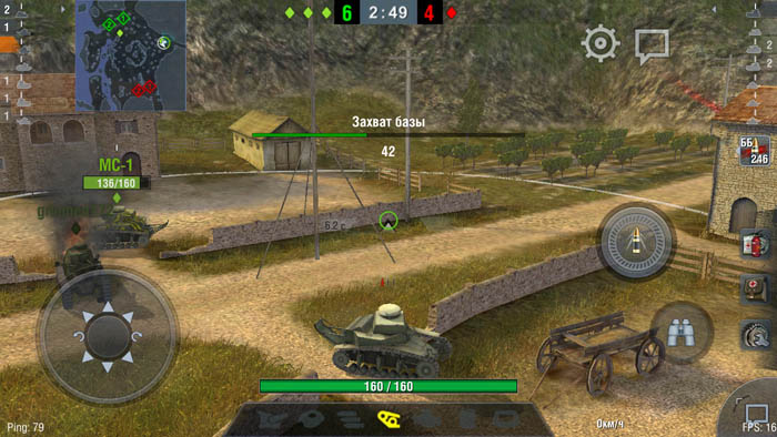 Wordl of Tanks Blitz для Dogee Y6 Piano Black (макс. настройки)