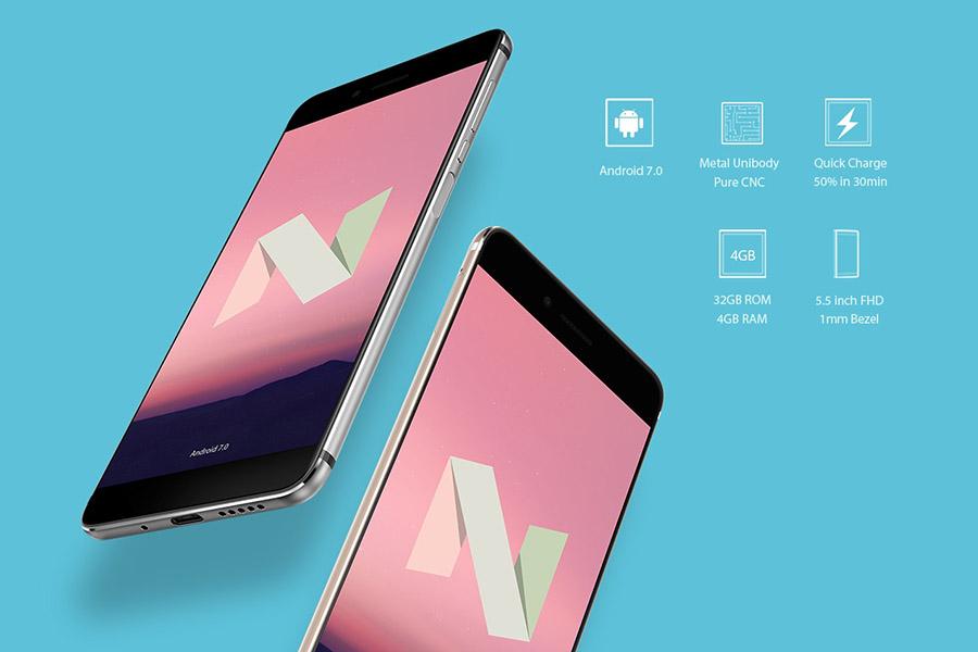 Vernee Mars получает обновление до Android 7.0 Nougat