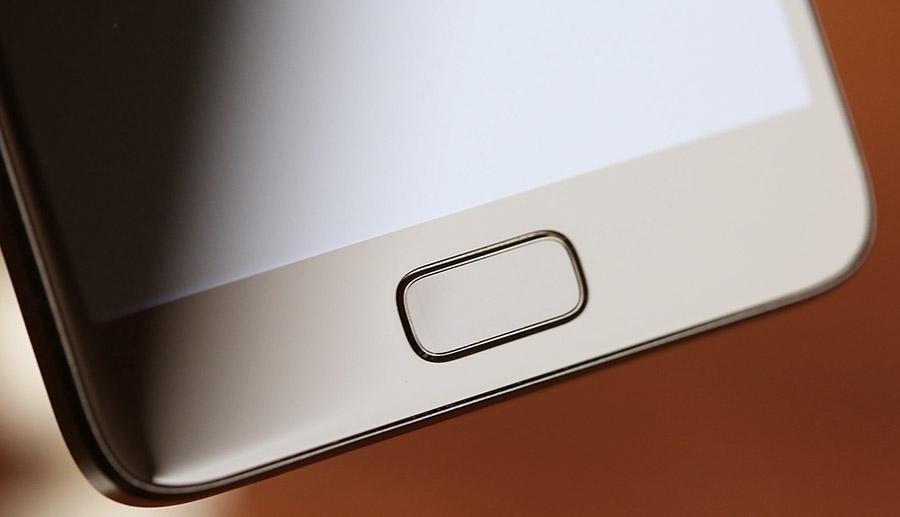Сканер отпечатков пальцев U-Touch 2.0 в ZUK Z2
