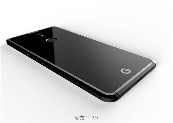Google Pixel 2 дизайн