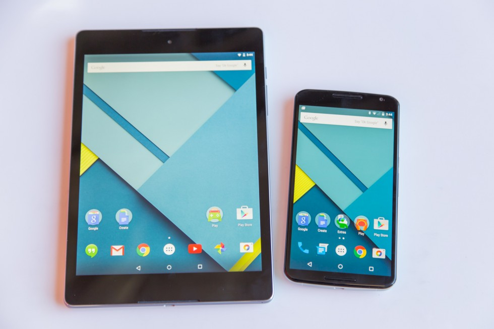Google прекратила поддержку Nexus 6 и 9