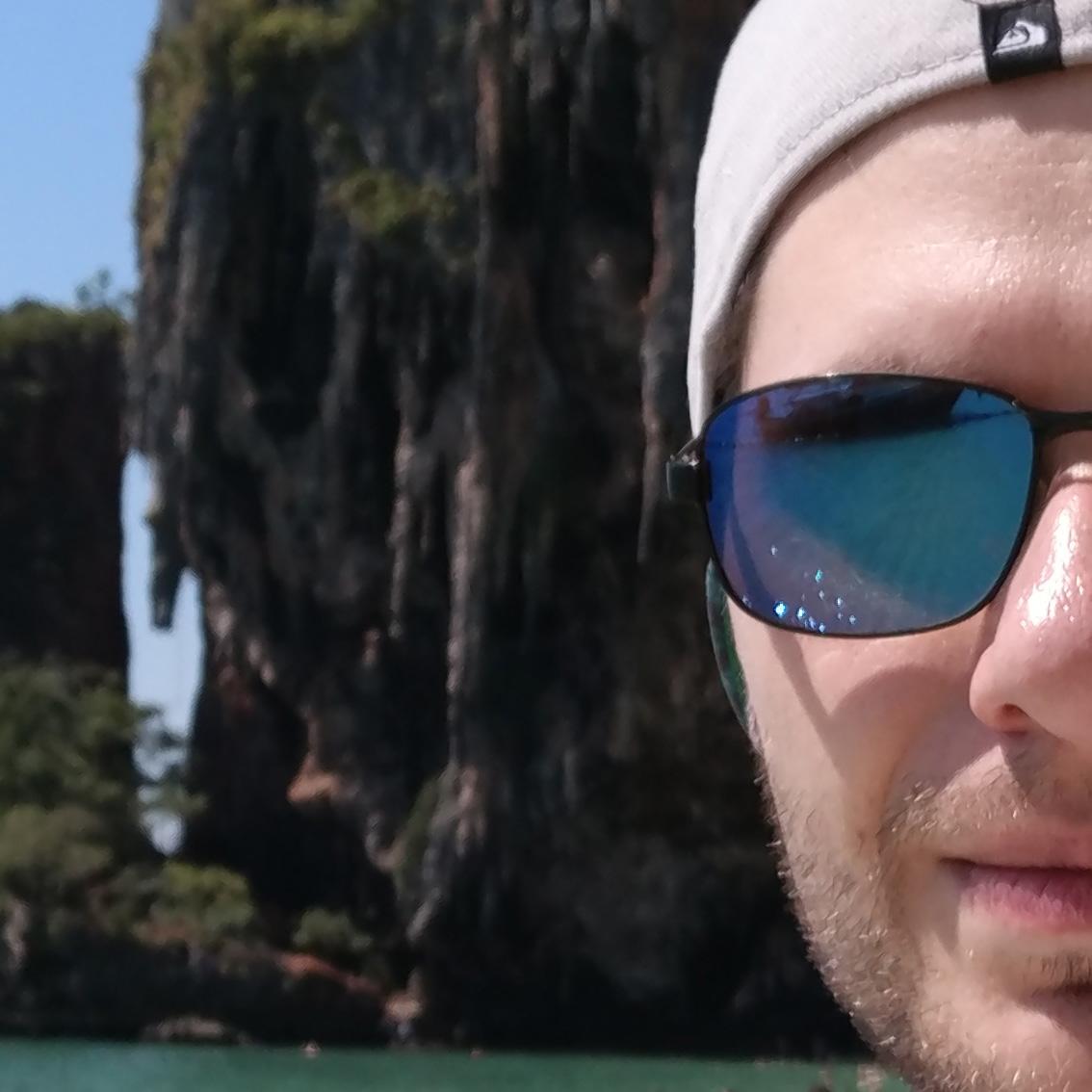 100-процентный кроп из фотографии, снятой на фронтальную камеру OnePlus 3T