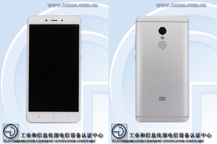 Xiaomi Redmi Note 4x дизайн
