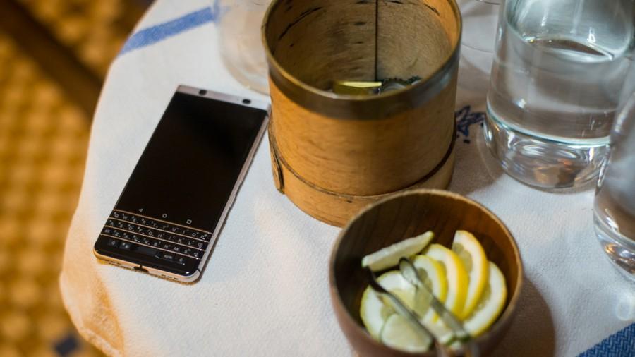 BlackBerry KEYone – первый смартфон на MWC 2017