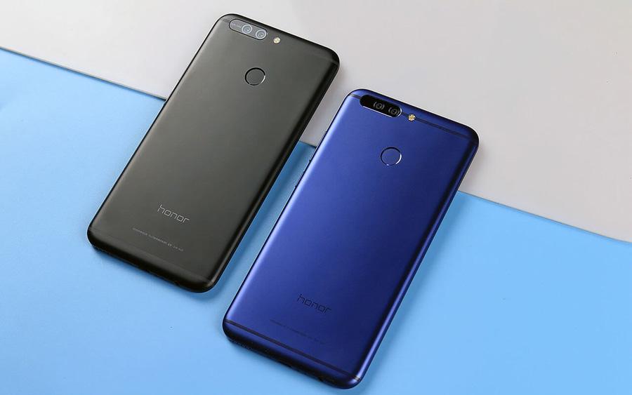 Huawei Honor V9 вид сзади