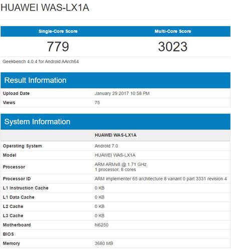 Huawei P10 Lite характеристики