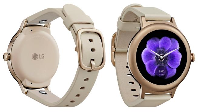 LG Watch Style титанового серого цвета