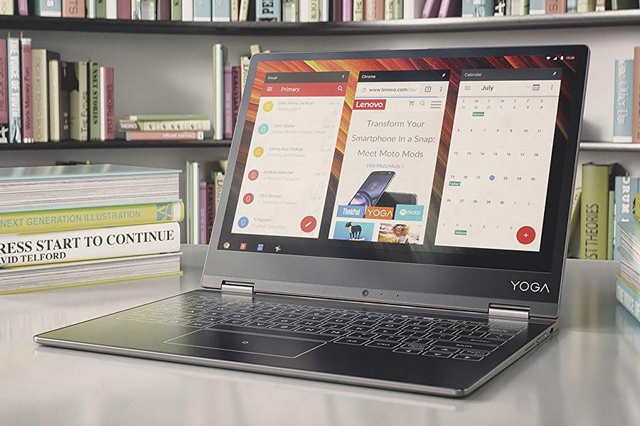 Lenovo Yoga A12 в режиме ноутбука