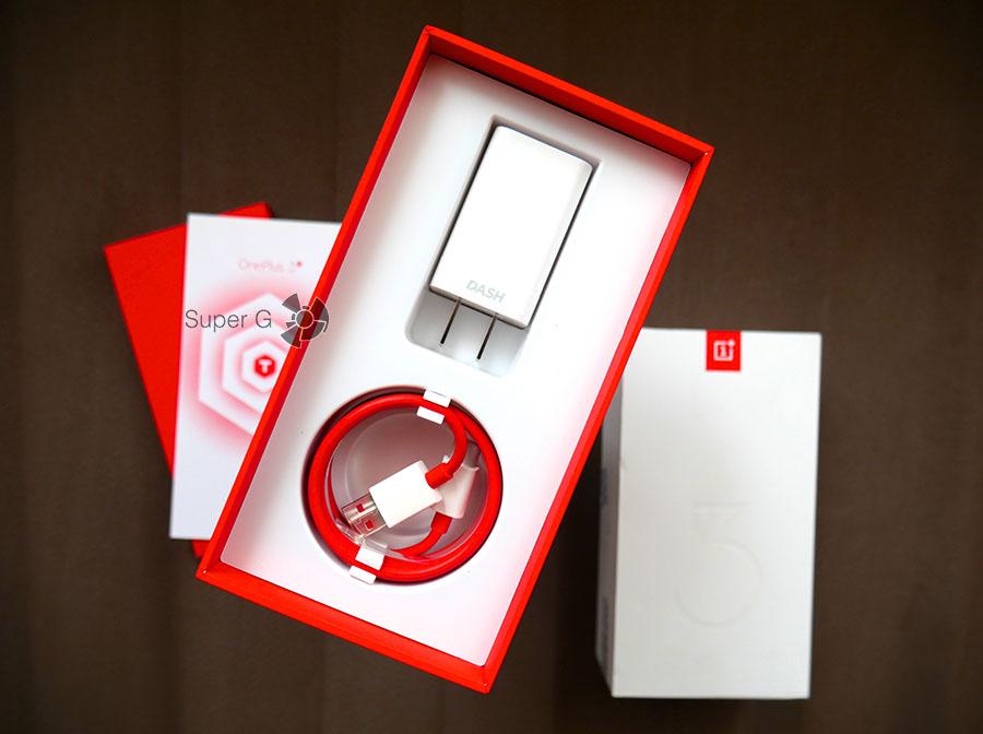 Распаковка OnePlus 3T