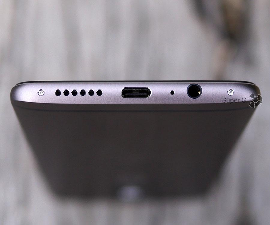 Дигамик, USB Type C, порт для наушников в OnePlus 3T