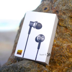 Коробка из-под Xiaomi Mi In-Ear Headphones Pro HD