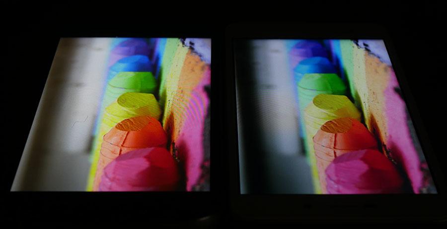 Сравнение экранов UMi Diamond (слева) и Xiaomi Redmi 4A (справа) (3)