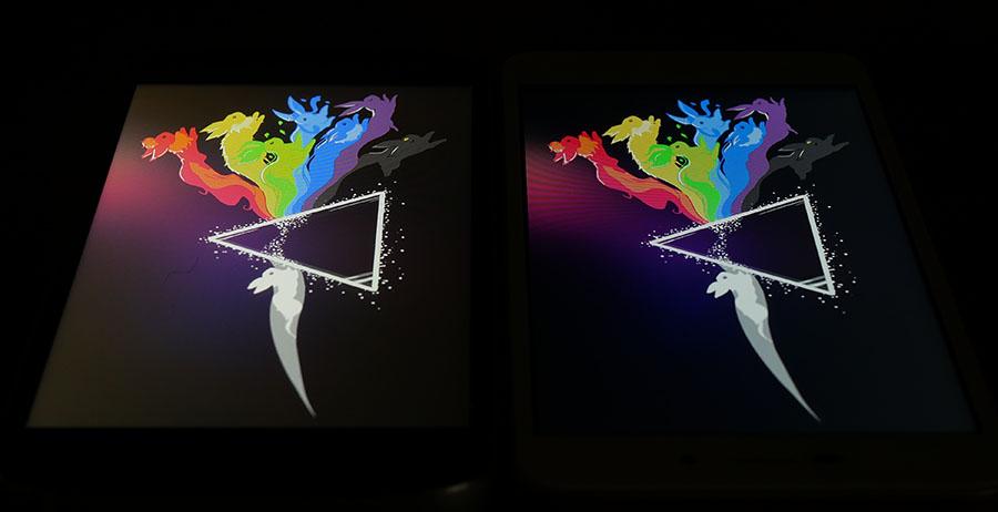Сравнение экранов UMi Diamond (слева) и Xiaomi Redmi 4A (справа) (4)