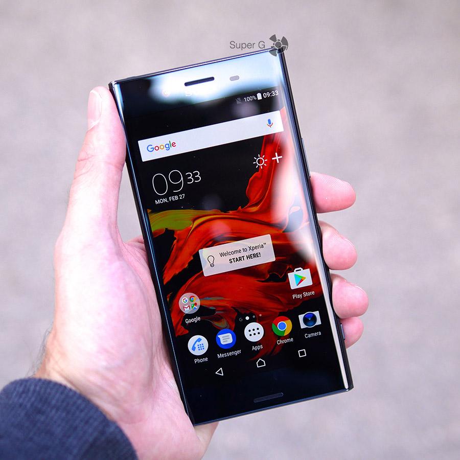 Экран Sony XZ Premium