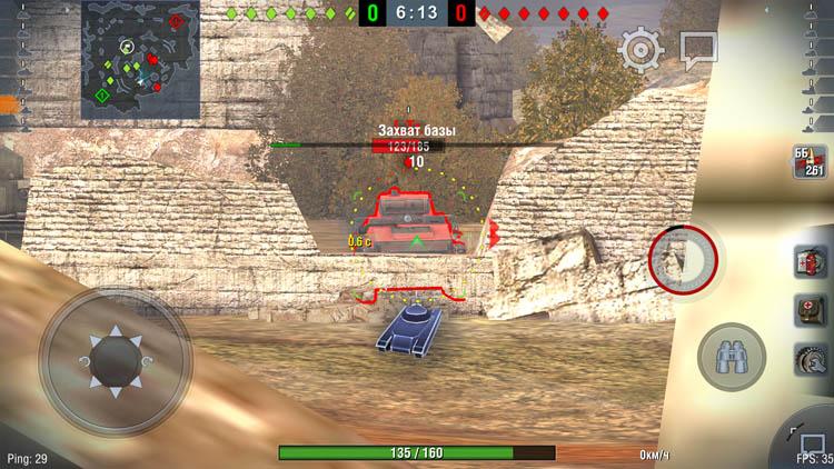 World of Tanks Blitz для Honor 6X