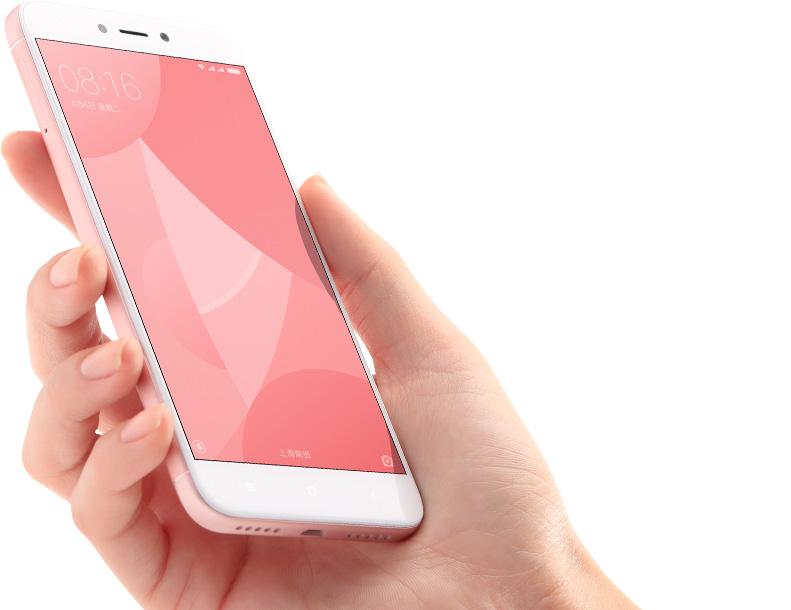 Xiaomi Redmi 4X розовый