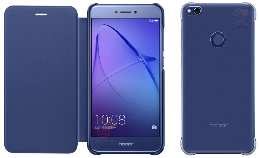 Huawei Honor 8 Lite в чехле