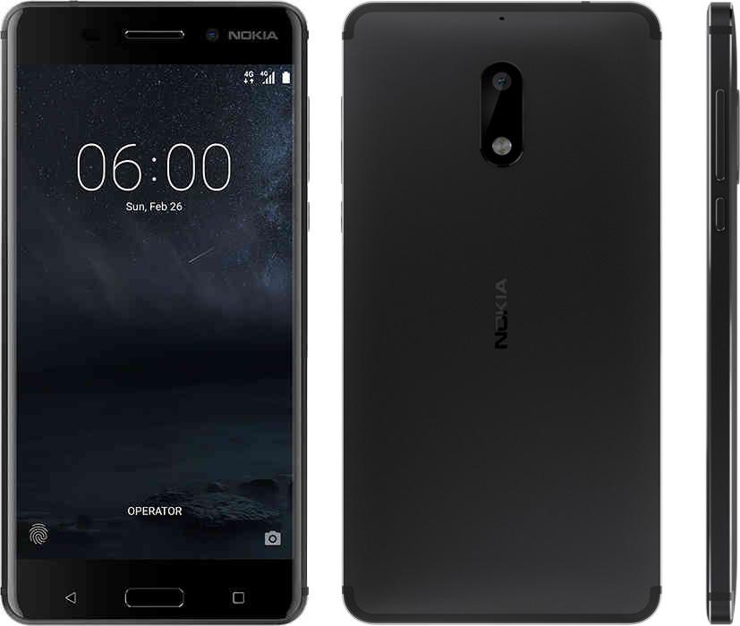 Nokia 6 дизайн