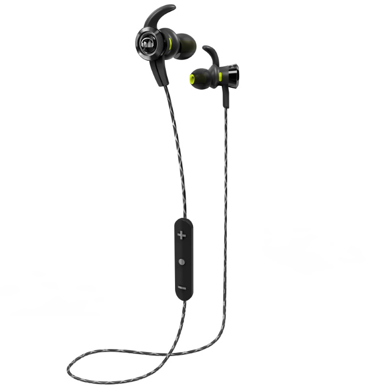 Черные наушники Monster iSport Victory In-Ear Wireless