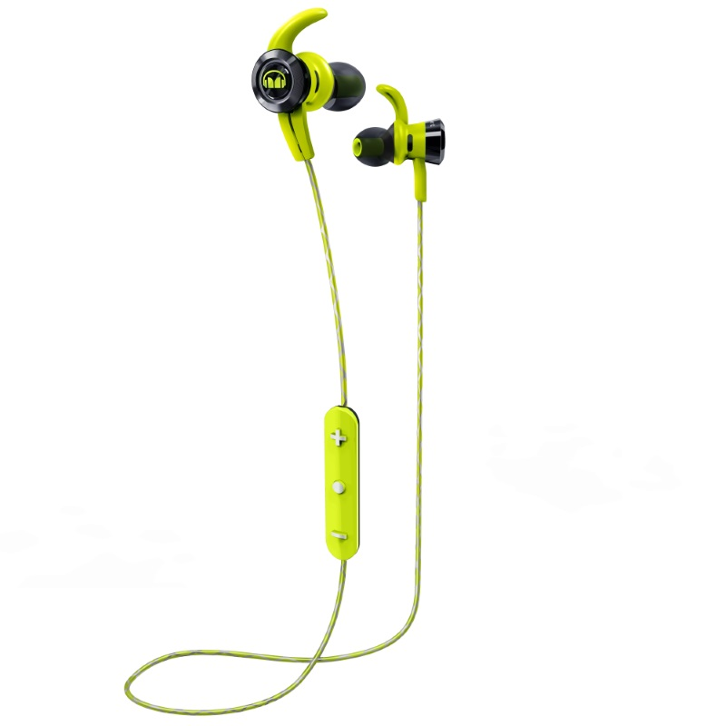 Зеленые наушники Monster iSport Victory In-Ear Wireless