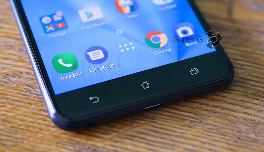 Сенсорные кнопки Asus Zenfone 3 Zoom