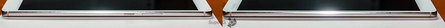 Боковые стороны Huawei MediaPad M3