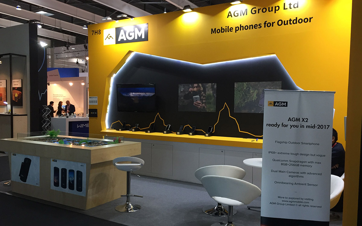 AGM at MWC 2017 in Barcelona