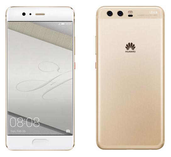 Золотой Huawei P10