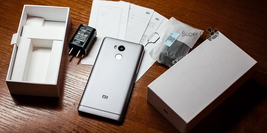 Комплектация Xiaomi Redmi 4 Prime