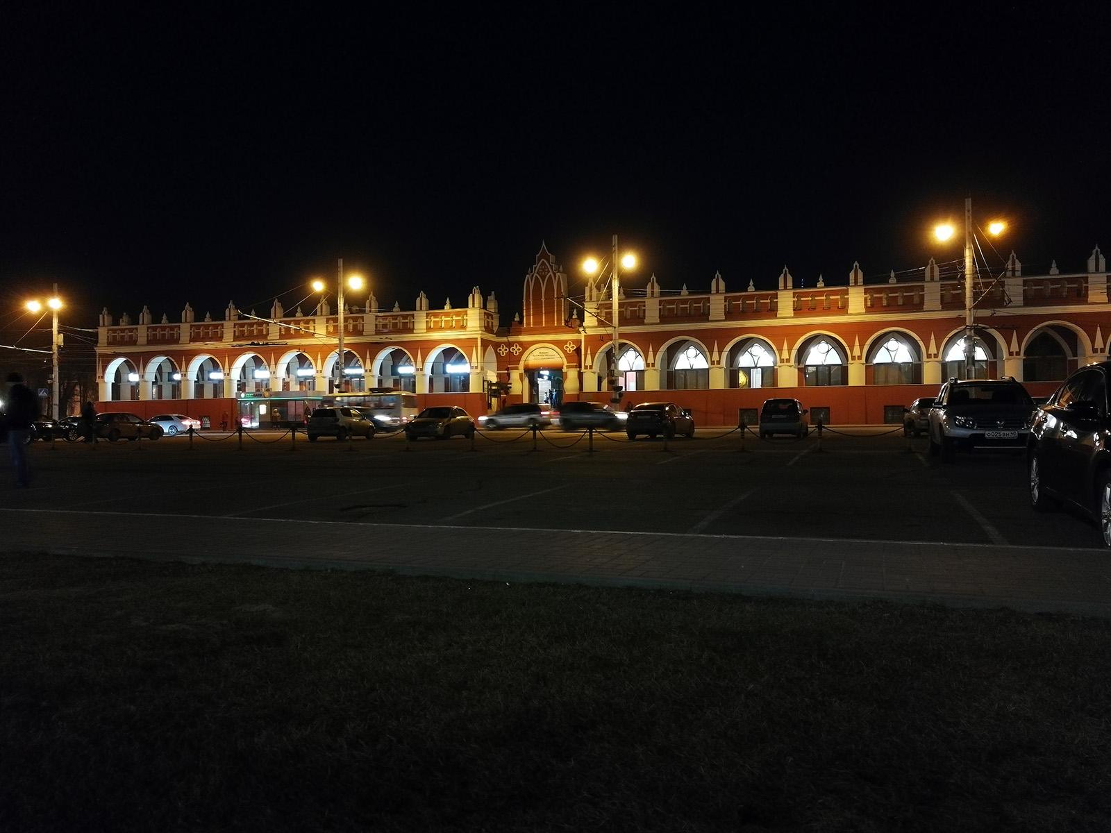 Съёмка на камеру Huawei P10 ночью