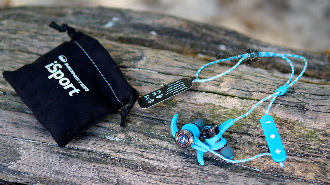 Bluetooth наушники Monster iSport Victory In-Ear Wireless