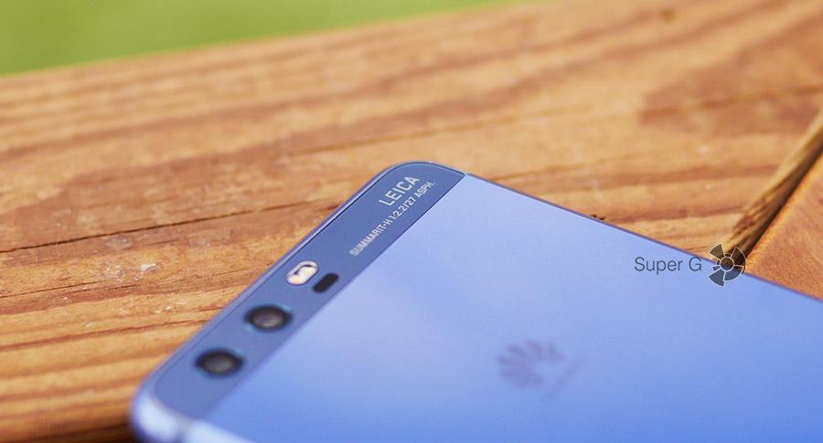 Объективы задних камер в Huawei P10 представлены Leica