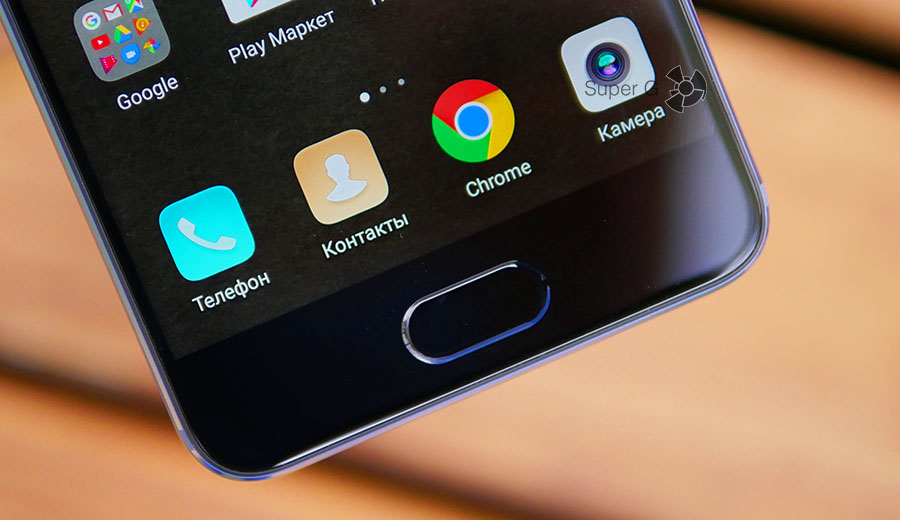 Датчик отпечатков пальцев в Huawei P10