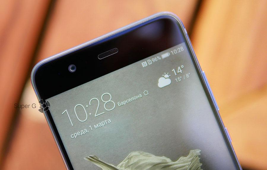 Фронтальная камера Huawei P10