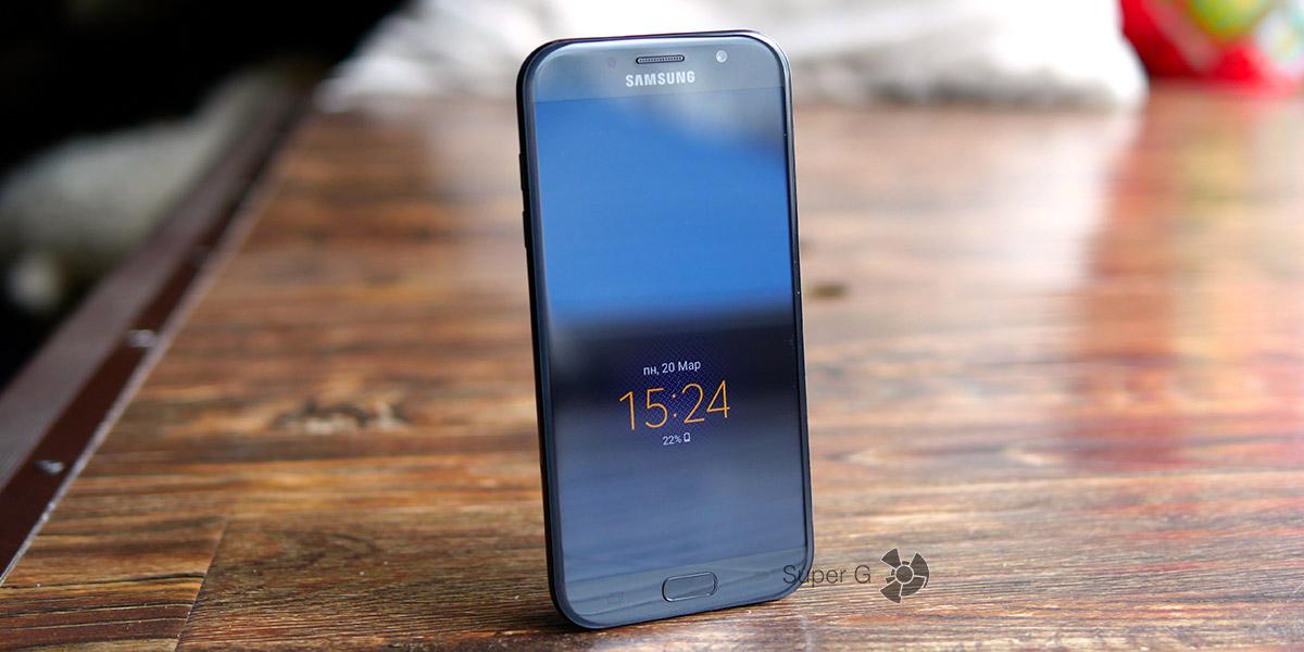 Обзор смартфона Samsung Galaxy A7 (2017)