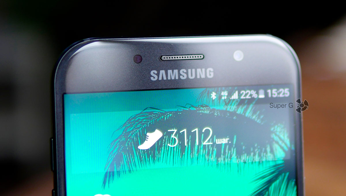 Качество фото с фронтальной камеры Samsung Galaxy A7 (2017)