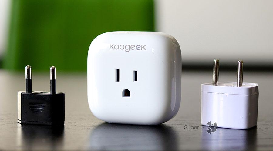 Как подключить китайскую версию Koogeek SmartPlug P1 к российской розетке