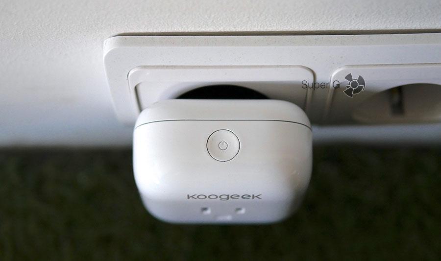 Включение Apple HomeKit - Koogeek SmartPlug P1