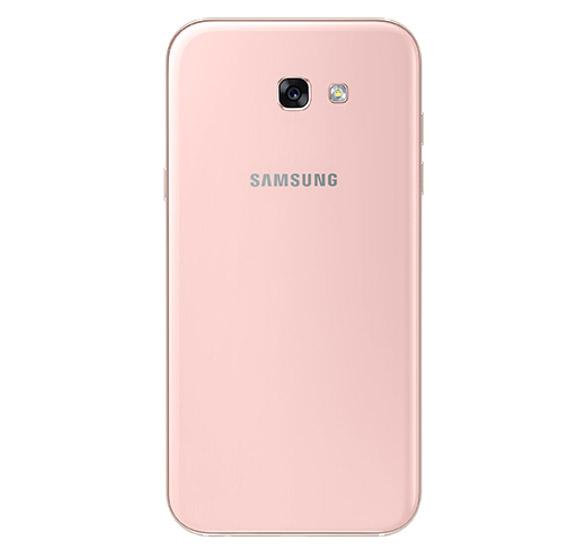 Samsung Galaxy A7 2017 розовый (сзади)