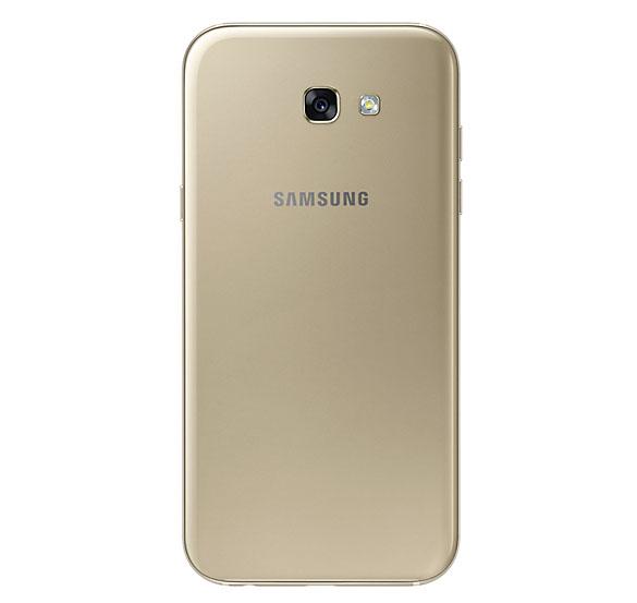 Samsung Galaxy A7 2017 Золотой (сзади)