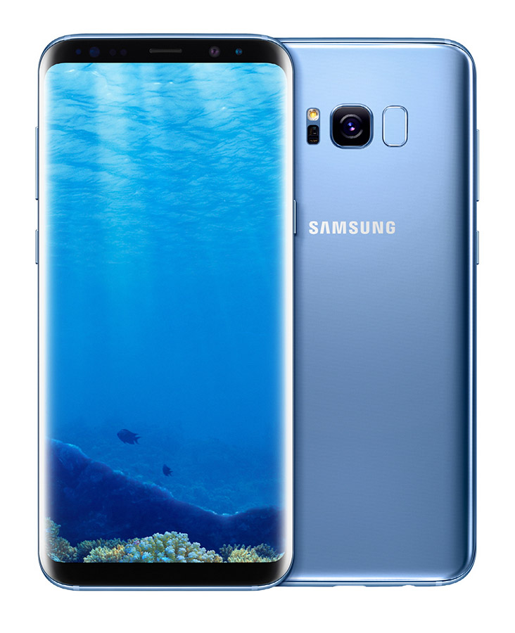 Samsung Galaxy S8 blue