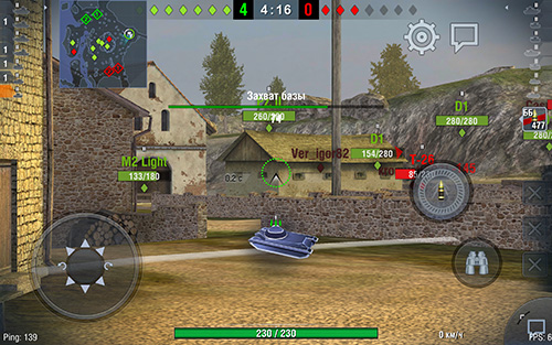 FPS в игре World of Tanks Blitz Huawei MediaPad M3