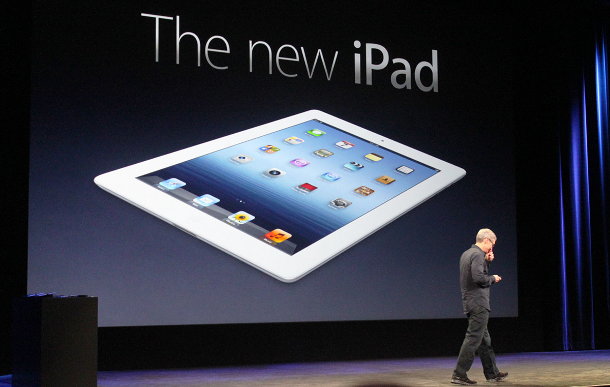 The new iPad by Apple