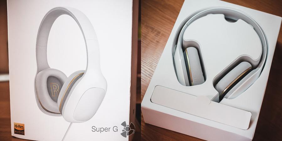 Комплектация Xiaomi Mi Headphones Comfort
